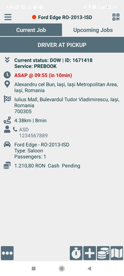 Booking-status